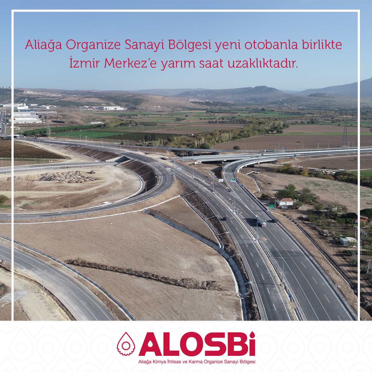 Aliağa Organized Industrial Zone is Closer to İzmir