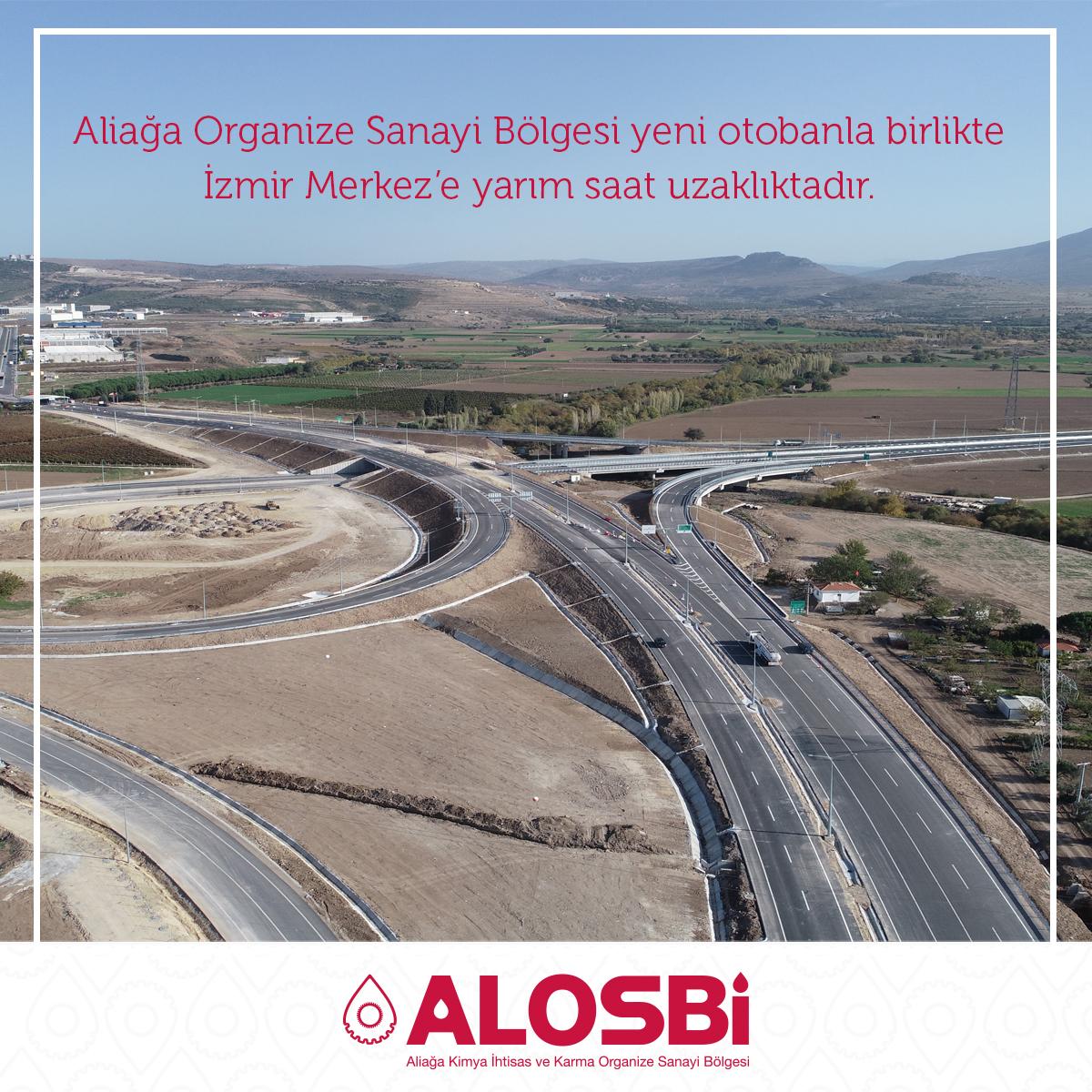 Aliağa Organize Sanayi Bölgesi Artık İzmir'e Daha da Yakın