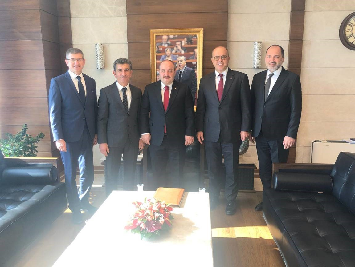 Visit of the ALOSBİ Board of Directors to the Minister of Industry and Technology Mr. Mustafa VARANK